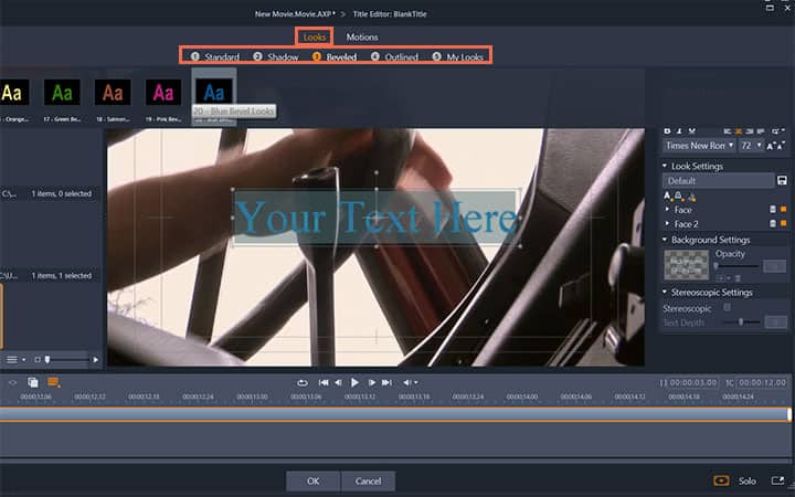 How To Add Text To A Video in Pinnacle Studio