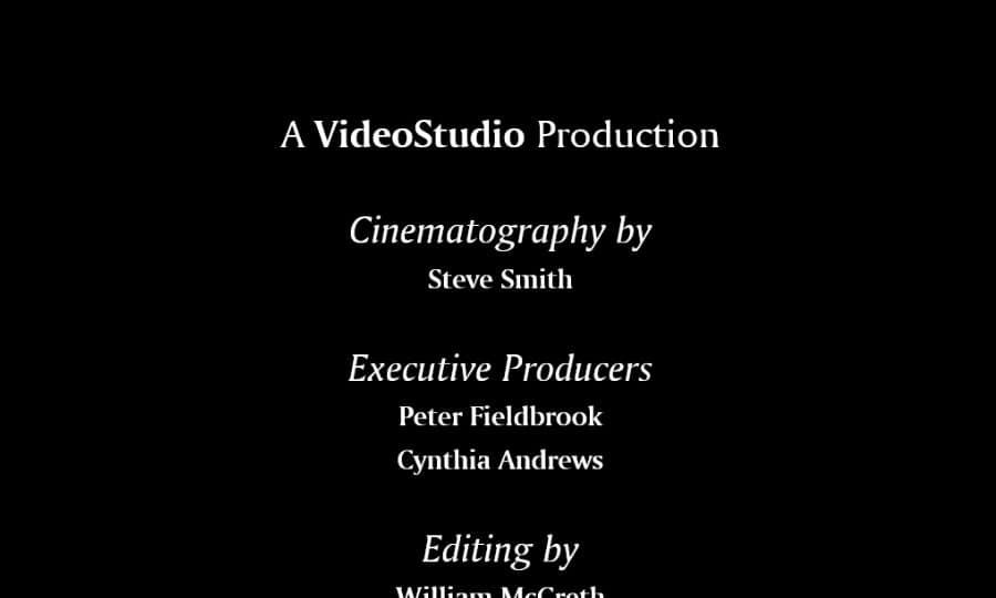 how to add video credits in pinnacle studio  pinnacle studio