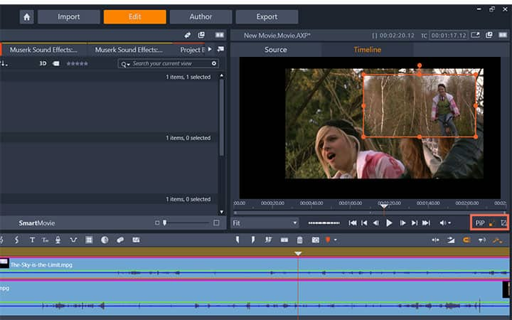How To Overlay A Picture On A Video in Pinnacle Studio
