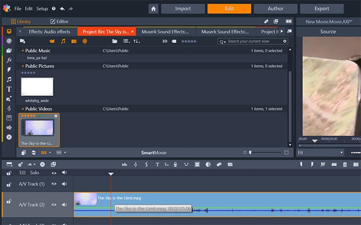 How To Extract Audio From Video in Pinnacle Studio