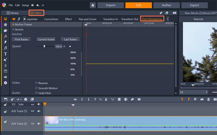 How To Make Slow Motion Video in Pinnacle Studio