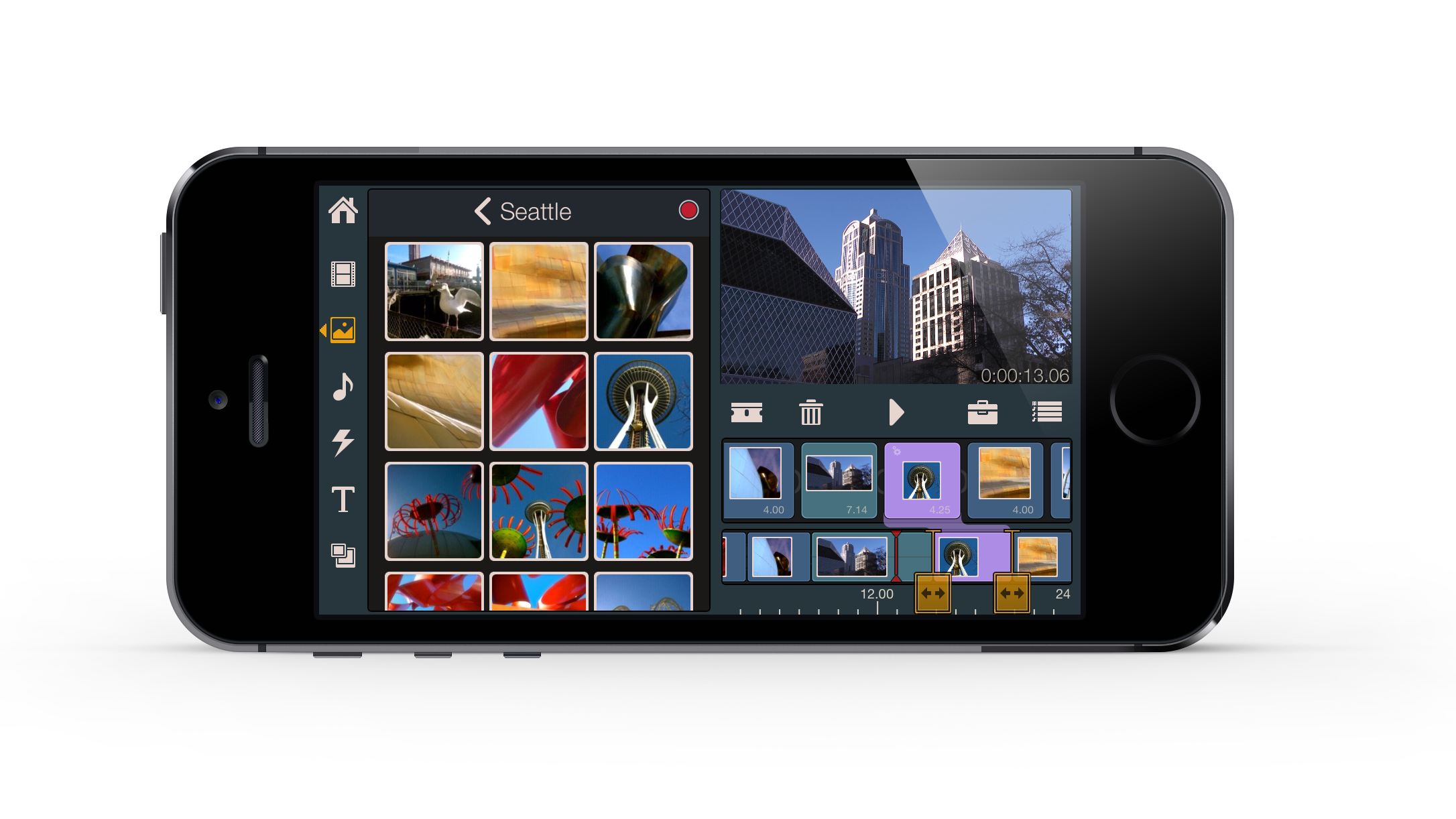 mobile video editing pinnacle studio for ipad iphone