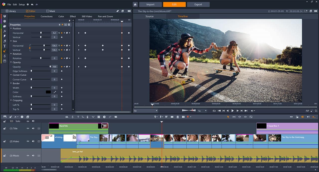 Download Your Free Trial of Pinnacle Studio Video Editing