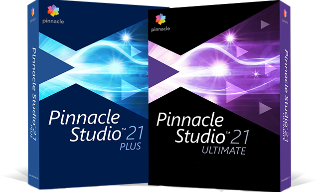 Pinnacle Studio 21 Plus and Ultimate