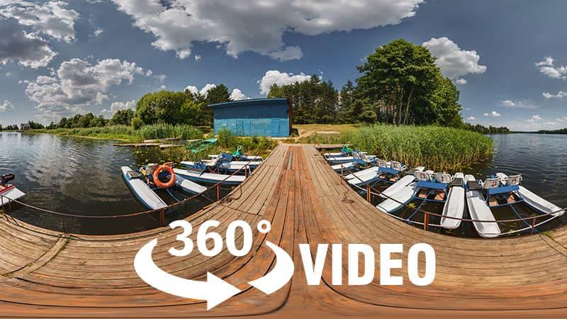 Montage des vidéos à 360°