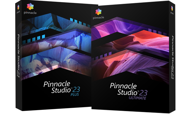 Pinnacle Studio 23 Plus et Ultimate