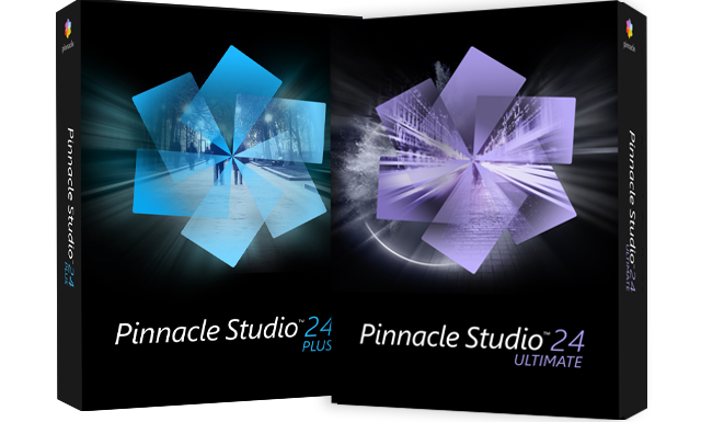 Pinnacle Studio 24 Plus und Ultimate