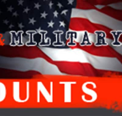 Discounts for Military