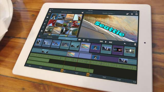 On-the-go video editing software