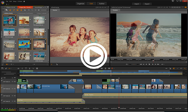 Video editing software made easy pinnacle studio 20 5 for Pinnacle studio templates free download